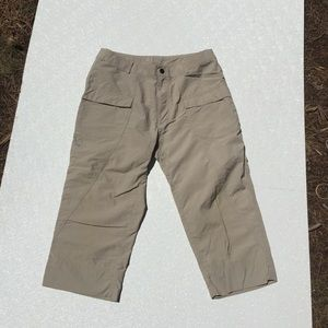 Sierra Designs Shorts Long Hike Tan Nylon 10